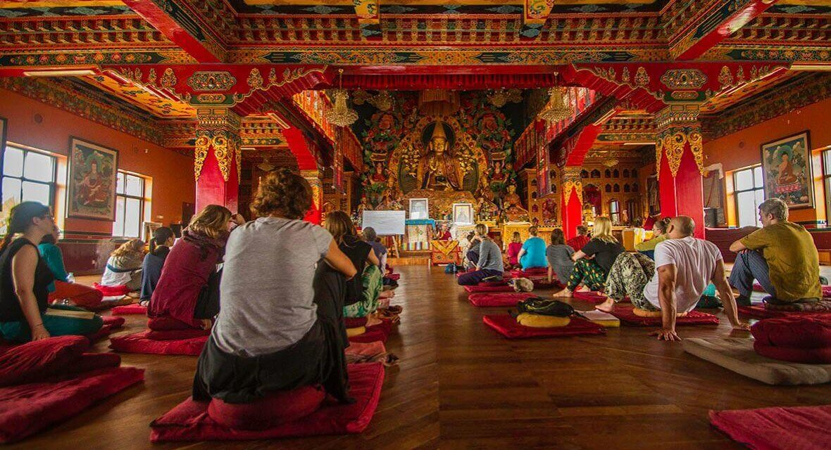 Before & After: One Month Meditation Retreat in Nepal