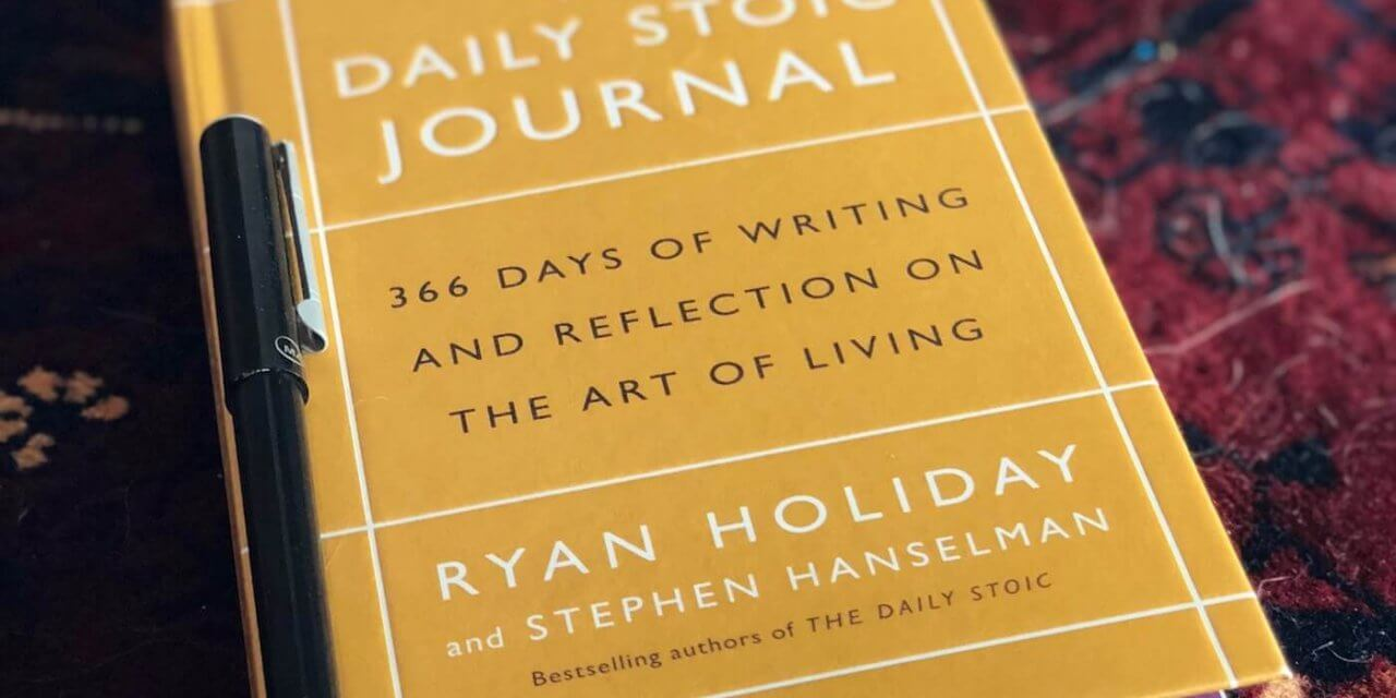 New Year, Real You: Stoic Journalling & New Year's Dissolutions