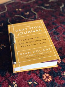 Ryan Holiday Daily Stoic Journal